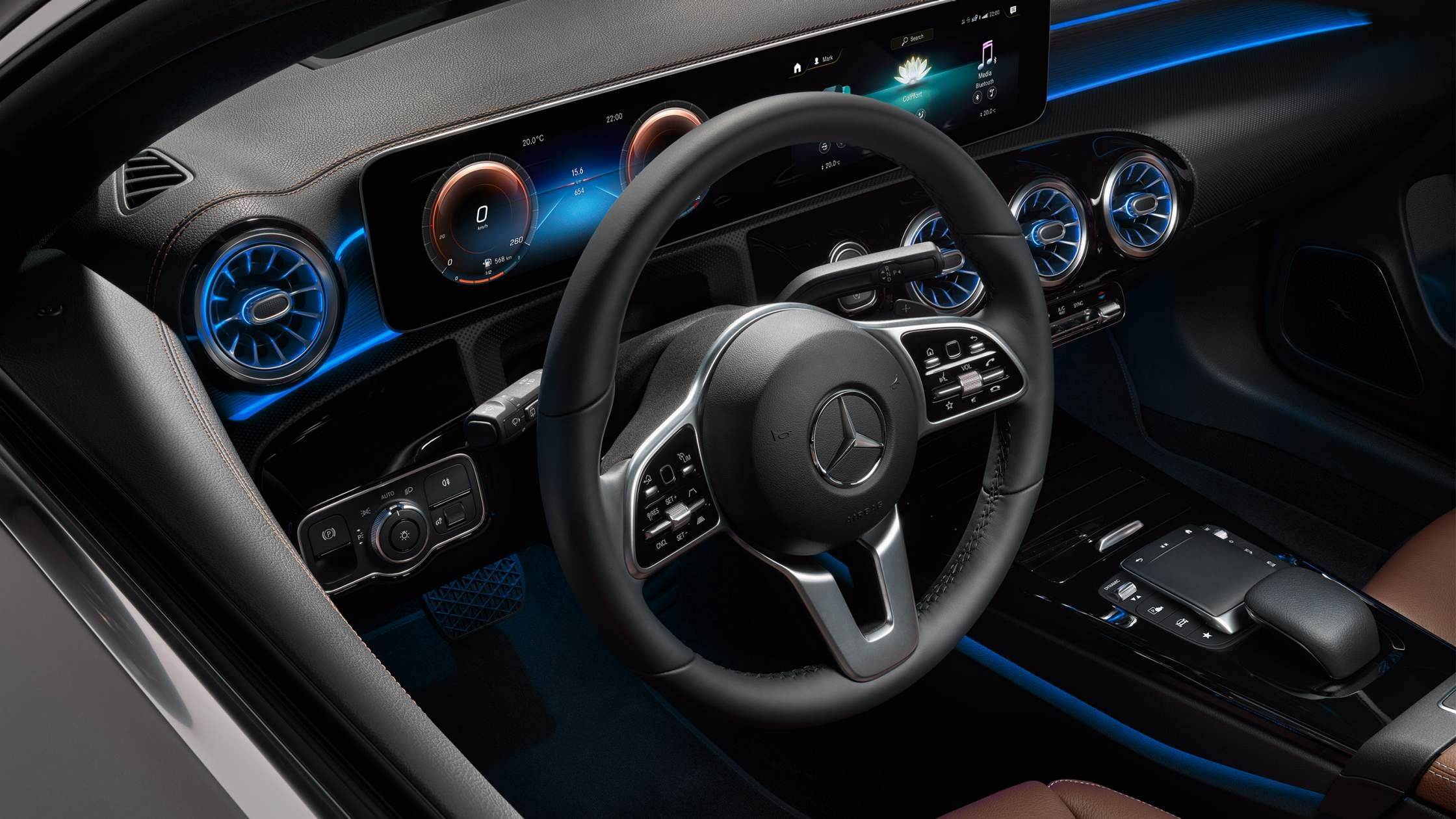 Mercedes-Benz CLA Shooting Brake - Cockpit